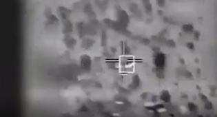 """צפו:  הפלת המל""""ט האיראני בשטח ישראל"""