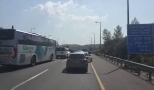 המחאה בכביש 1