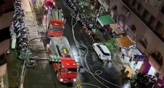 תיעוד מהשריפה בטייוואן שגבתה חיים של לפחות 46 בני אדם