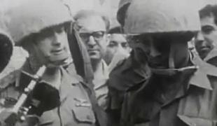 תיעוד נדיר: יצחק רבין במלחמת 6 הימים