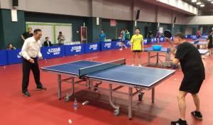 """צפו: יו""""ר הכנסת משחק טניס שולחן ב... סין"""