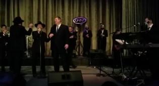 LIVE: פריד ופריישטט מבצעים את 'ריבון העולמים'
