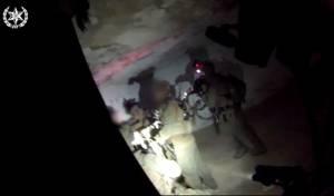תיעוד: כך נלכד פלסטיני החשוד בפיגוע טרור