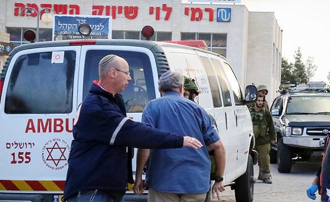 """פצועים בפיגוע ליד """"רמי לוי"""", המחבלים נוטרלו"""