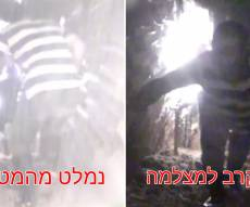 בתוך המנהרה: פעילי חיזבאללה ומטען • צפו