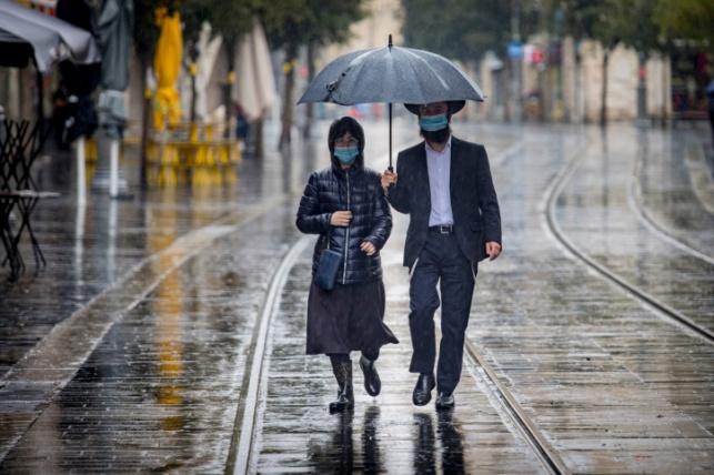 התחזית: בשעות הצהריים ייתכן גשם מקומי