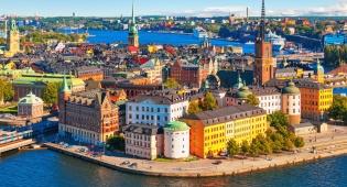 שטוקהולם, שבדיה. אחת הערים הכי נקיות בעולם
