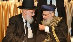 """הגר""""י יוסף והגר""""ש כהן, הערב - עצרת בביתר: שנתיים לפטירת הגר""""ע יוסף"""