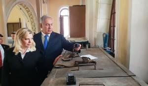 ראש הממשלה  ביקר בבית הכנסת בווילנה