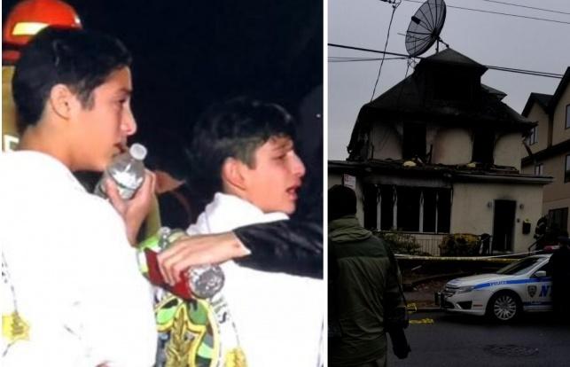 אברהם בן ה-13 קפץ מהחלון וניצל מהשריפה