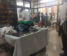 מקום נפילת החלון בבית הכנסת