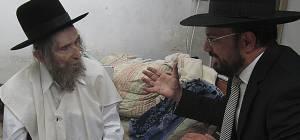 """יצחק רביץ אצל מרן הגראי""""ל שטיינמן"""