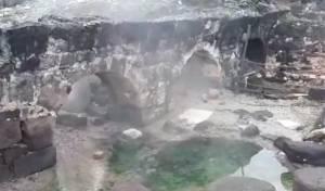 אחרי עשור: המעיין בחמת טבריה חזר לנבוע