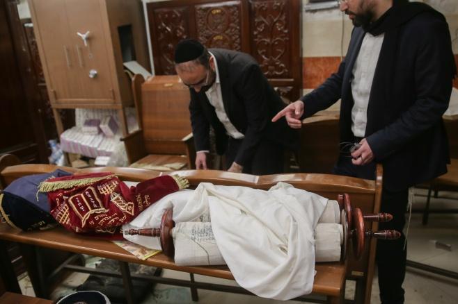 הזוועה: תיעוד רחב מתוך בית הכנסת שחולל