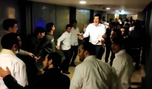 ריקוד הבחורים במלונית