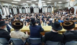 גדולי הרבנים חיזקו את תושבי נתניה. תיעוד