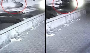 הסרטון הוכיח: השוטר נסע נגד התנועה. צפו