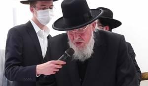 הרב ברוך מרדכי אזרחי, בנאום