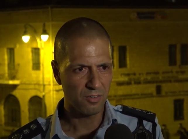 הקצין האחראי על ההפגנות - חלה בקורונה