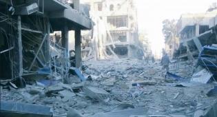 """חורבות העיר דיר א-זור - המעוז האחרון של דאע""""ש בסוריה - נכבש"""