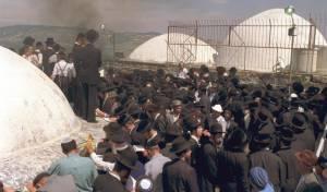"""ל""""ג בעומר במירון, ב-1990"""