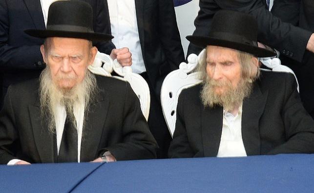 """מרן הרב שטיינמן והגרי""""ג אדלשטיין"""