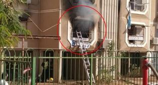 הדירה שנשרפה