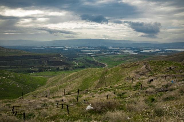 הגבול עם ירדן בדרום הגולן