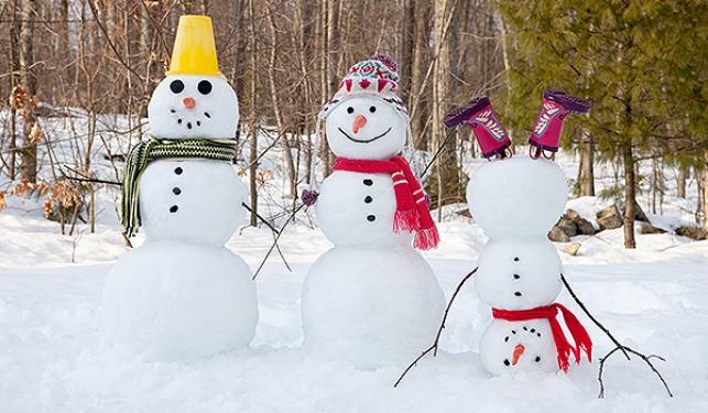 איש דת סעודי: אין לבנות בובות שלג