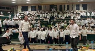 בקעמפ 'בית מתתיהו': תחרות מלחינים; צפו