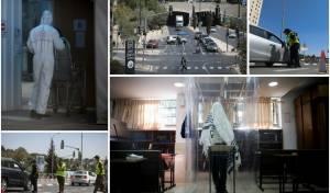אווירת הסגר בירושלים: מחסומים וקפסולות