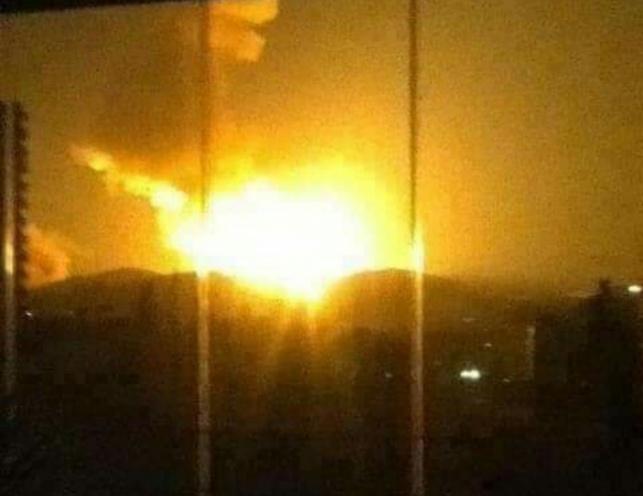 התקיפה הישראלית האחרונה בסוריה