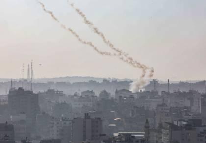 מאז שעות הבוקר: 190 רקטות על ישראל; עשרות יירוטים