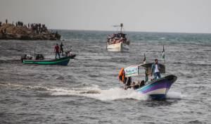 בתגובה לבלוני תבערה: סגר ימי על הרצועה