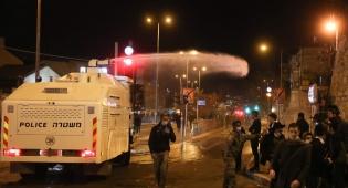 המחאה על מות הנער; 39  מפגינים נעצרו