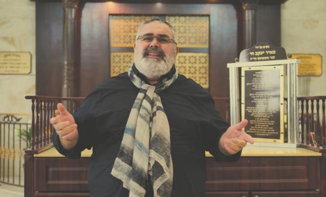 קרדונר הלחין, שמעון סיבוני שר לכבוד הצדיק