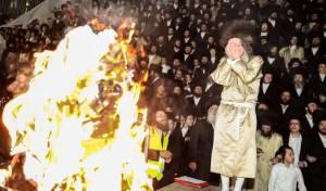 צפו בווידאו: ר' מיילך בידרמן הקפיץ את מירון