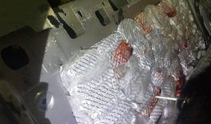 """משפחה ניסתה להבריח 250 ק""""ג טבק מסיני"""