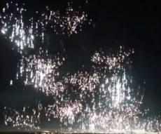 שמיה של אידליב בוערים מפצצות הזרחן הרוסיות • צפו