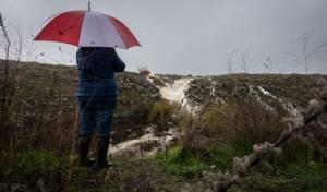 זרימה חזקה בגולן בעקבות הגשמים