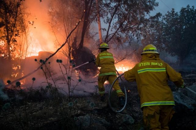 שריפת הענק בבן שמן: חלק מהתושבים יוכלו לחזור לבתים