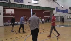 הנגיד שלמה יהודה רכניץ מול כוכבי ה-NBA