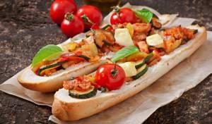 אנטיפסטי - ירקות קלויים בתנור