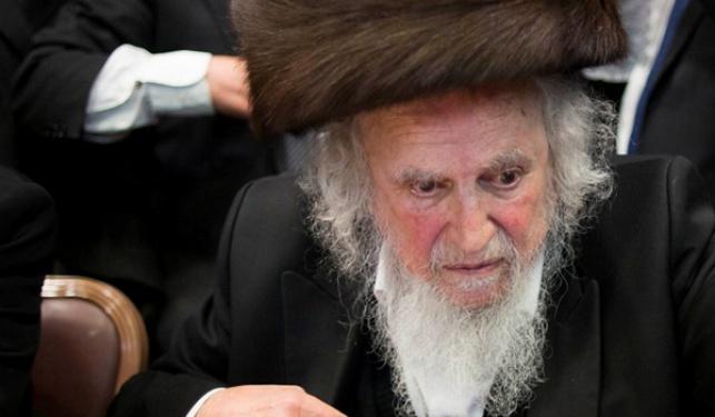 הרב שמואל אוירבך אושפז; מצבו טוב