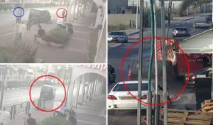 גנב רכב, נמלט, התנגש במשאית ונעצר. צפו