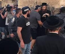 עימותים בפשיטת המשטרה על מאה שערים