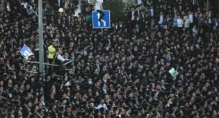 הסדרי התנועה בירושלים בעצרת הבחירות