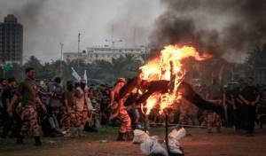 טקס הסיום של קייטנת החמאס • צפו בתמונות