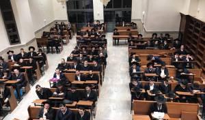 היכל ישיבת 'שער התלמוד' שנפתחה השנה