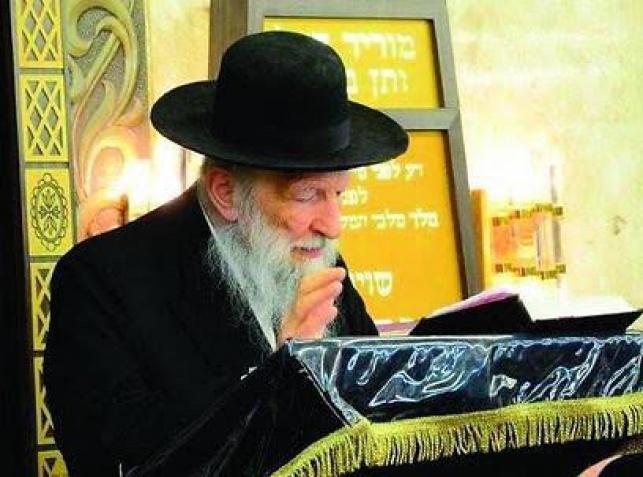הגאון רבי ישראל יצחק קלמנוביץ'